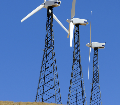 of wind turbine lattice structures
