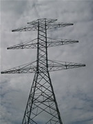 Electrical lattice structure – double circuit tower